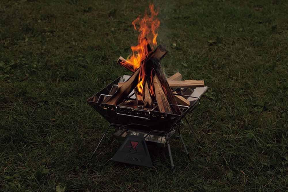 焚き火台のレンタル – BASE CAMP