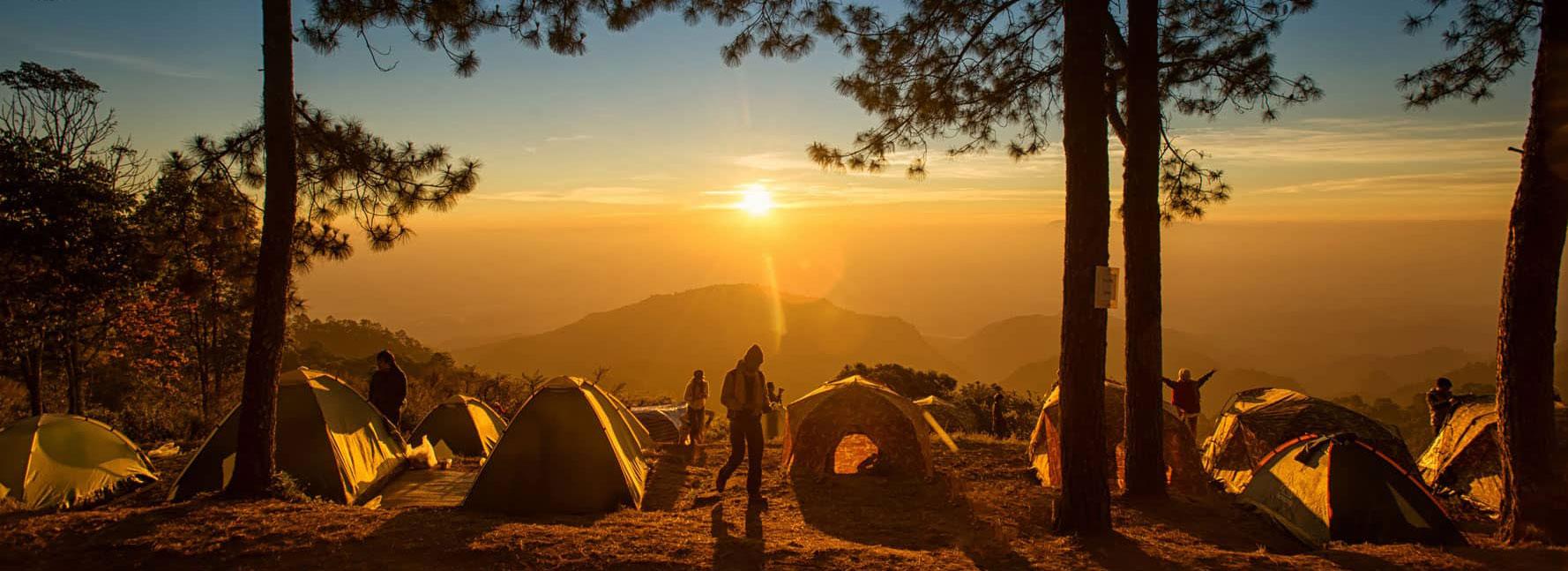 キャンプ用品のレンタル