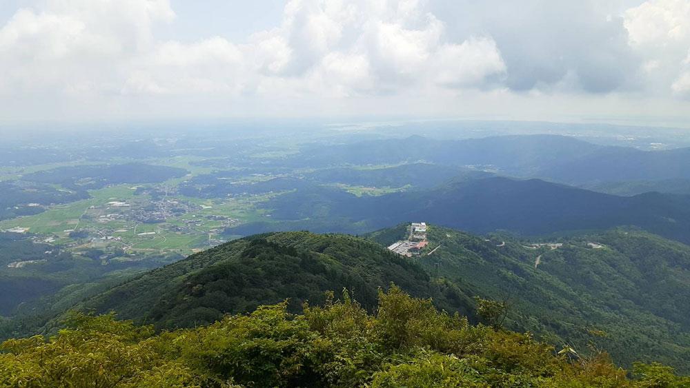 筑波山からの眺望